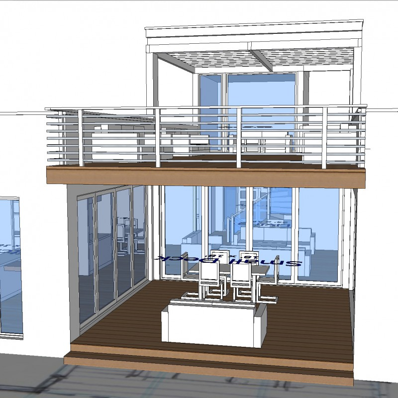 Steel Design For Two Storey Townhouse