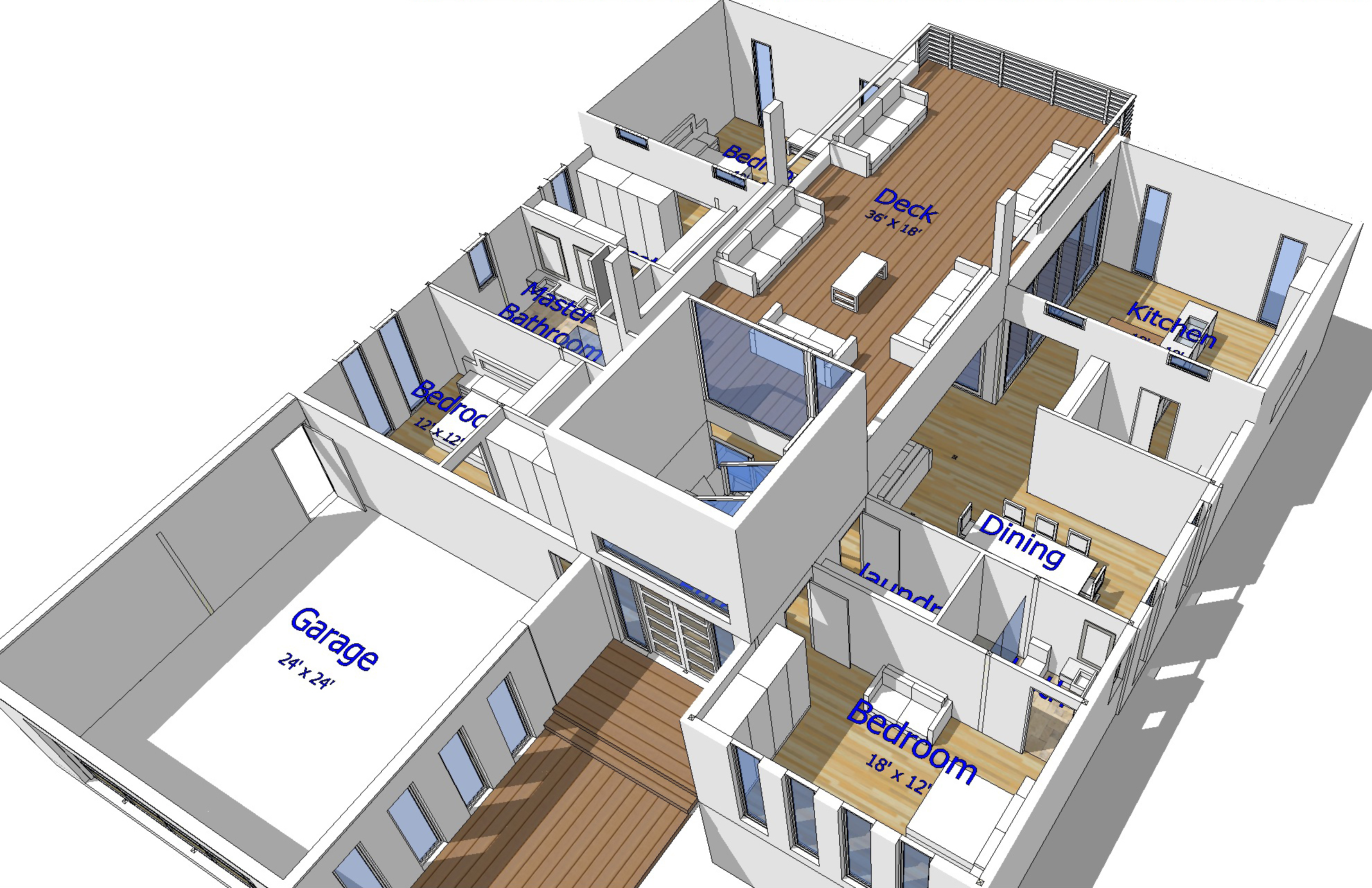 BUY Our 2 Level Steel Frame Home 3D Floor Plan - Next Gen ... Steel Frame Homes Near Me
