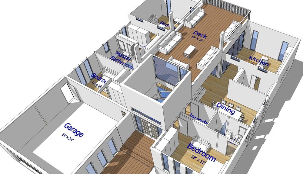 Next generation steel frame homes arrive in arizona next for Steel frame home floor plans