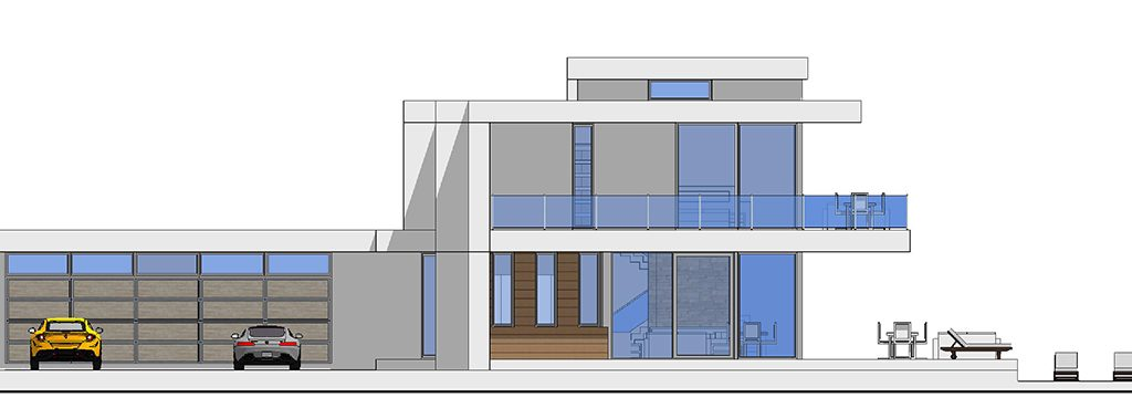 Two Story Modern Glass Home Design – Next Generation Living Homes