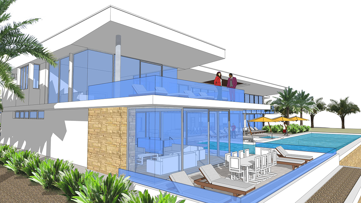 All star dream house next generation living homes for Dream house plans 3d