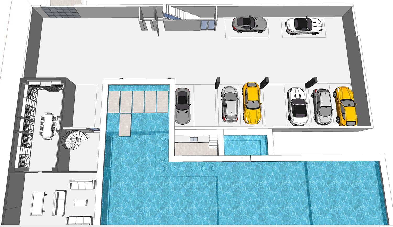 Buy our all star dream house 3d floor plan next for Plan 3d garage