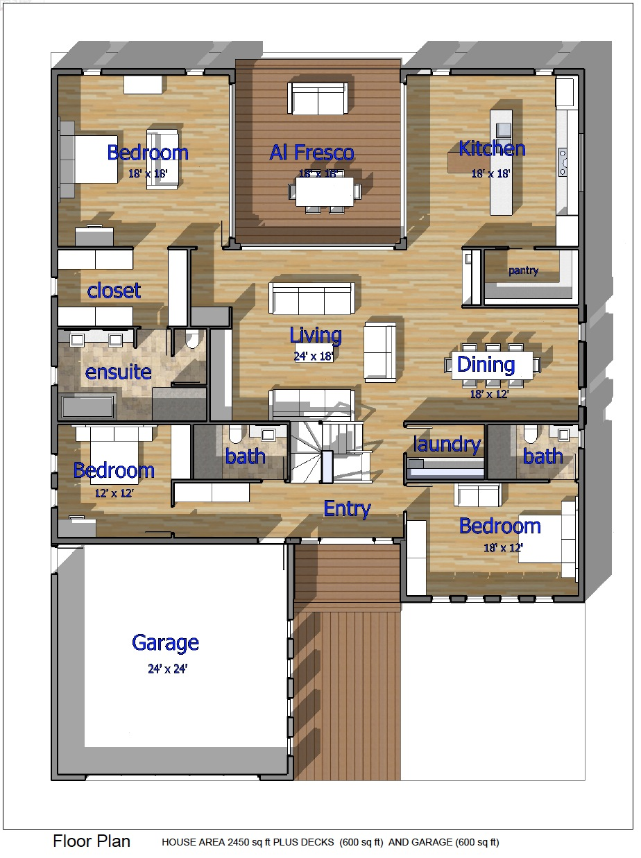 Buy Our 3 Level Steel Frame Home 3d Floor Plan Next