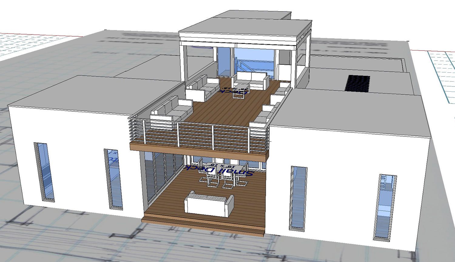 Buy our 2 level steel frame home 3d floor plan next for Steel frame house plans