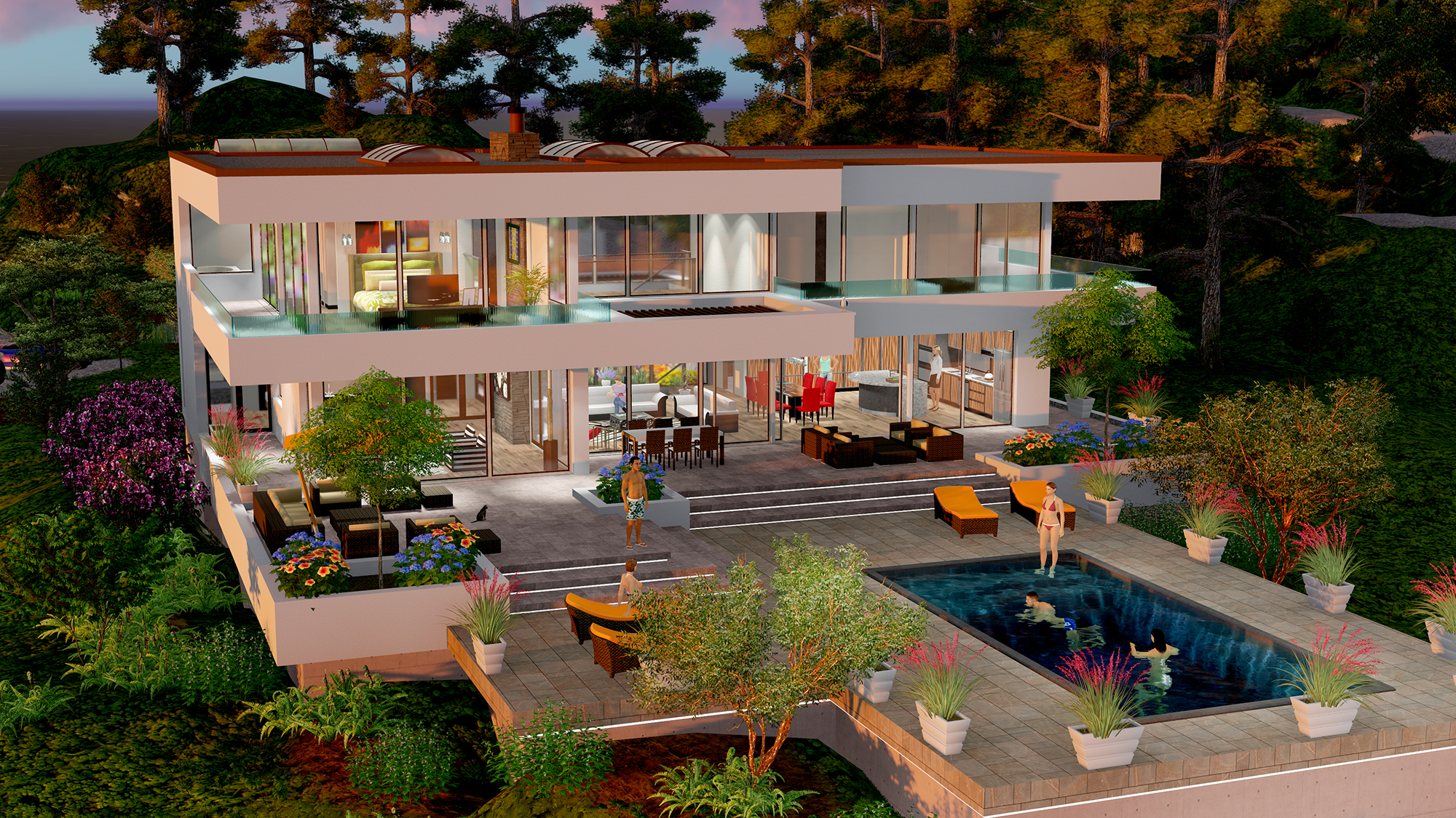 BEVERLY HILLS DREAM HOUSE – Gallery – Next Generation Living Homes