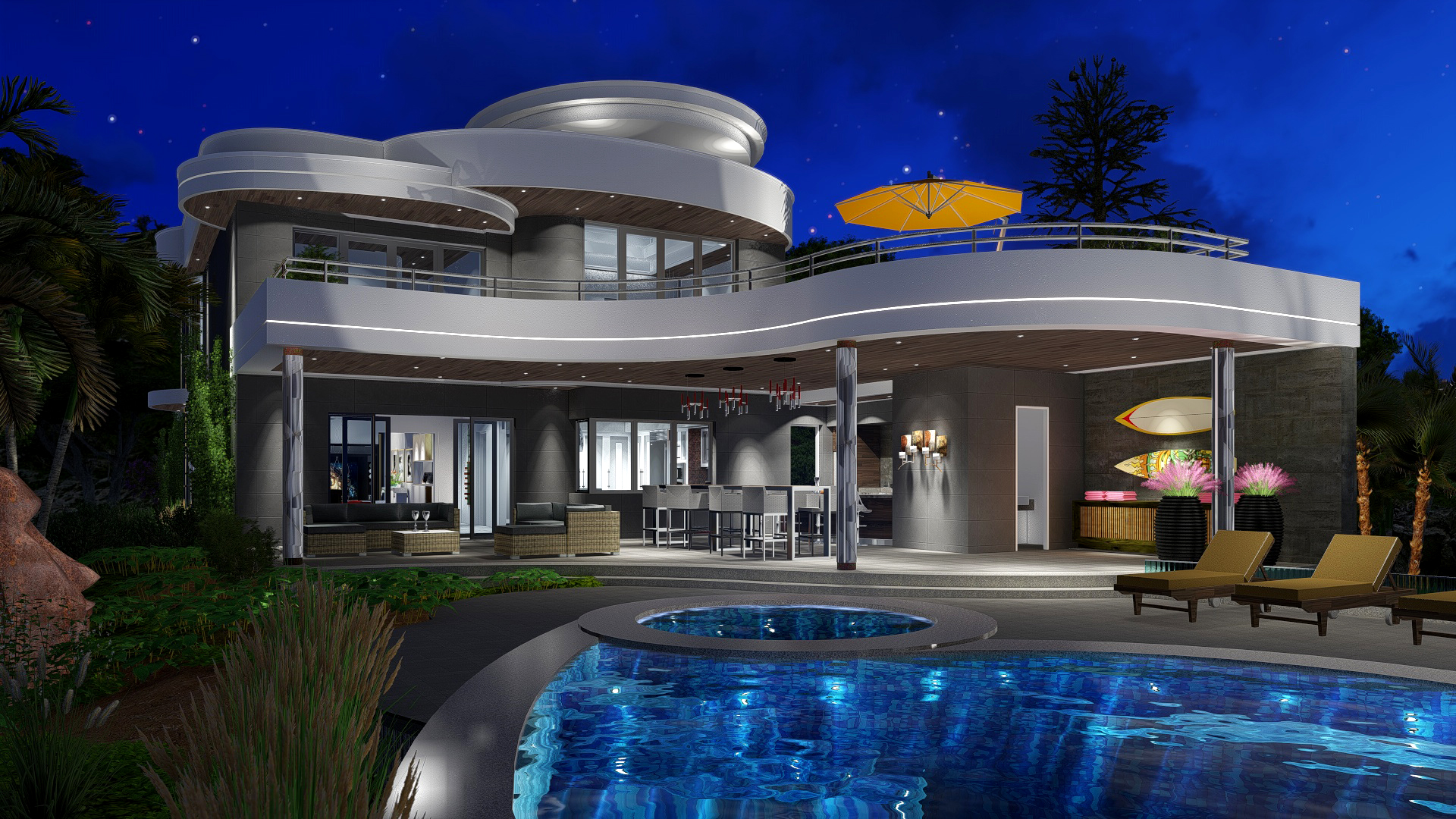 Caribbean islands luxury resort home gallery next for Generation house
