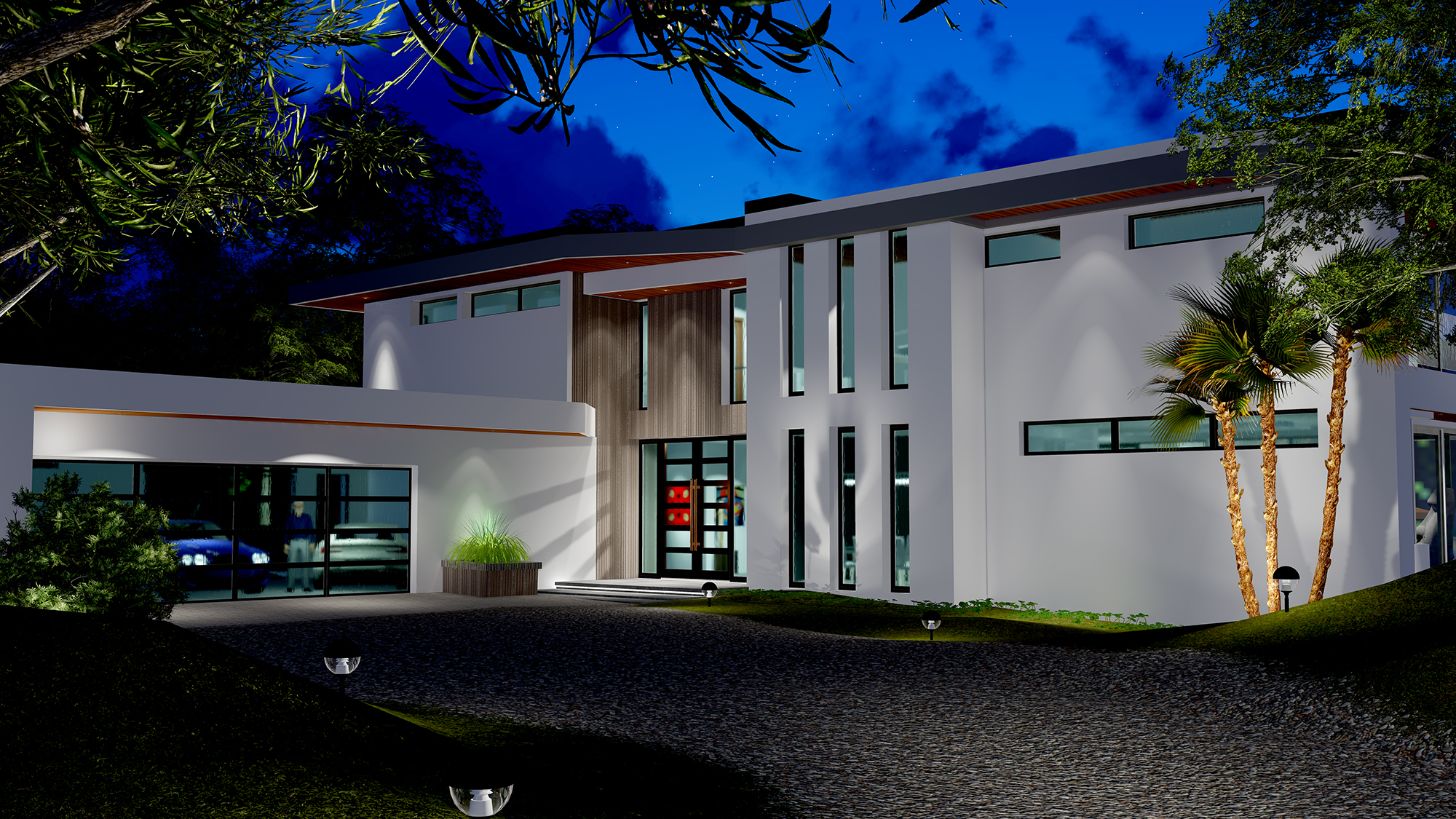 Two Story Modern Glass Home Design Gallery Next Gen Living Homes