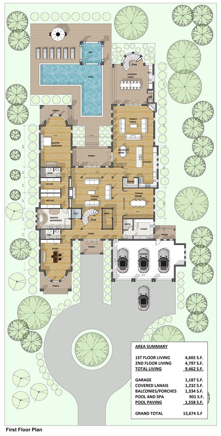 Buy This Modern Mediterranean House Plans - Next Gen ...