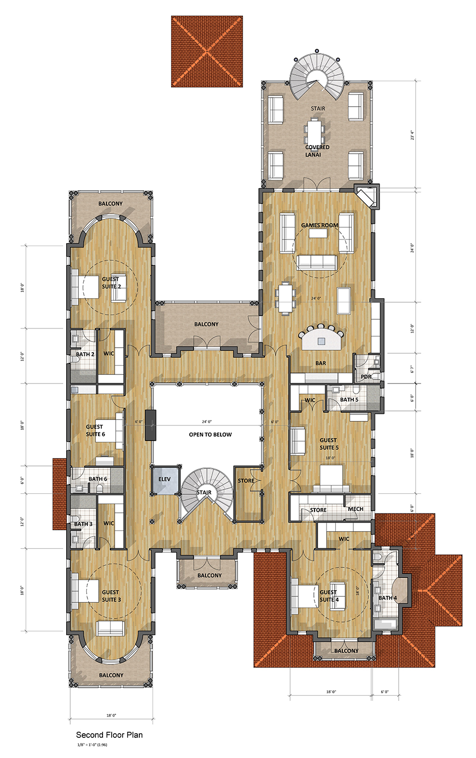 Modern mediterranean house plans next generation living for Next gen homes floor plans