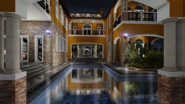Modern Mediterranean House Plans Next Generation Living Homes